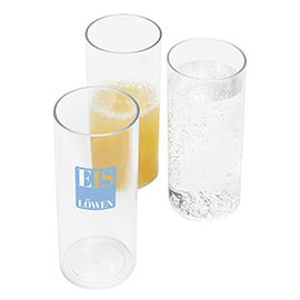 Plastic long-drink glass